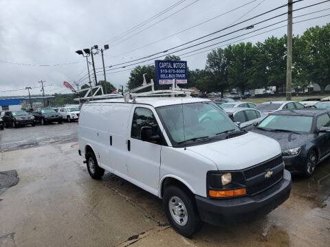 2015 Chevrolet Express Cargo for sale at Capital Motors in Raleigh NC