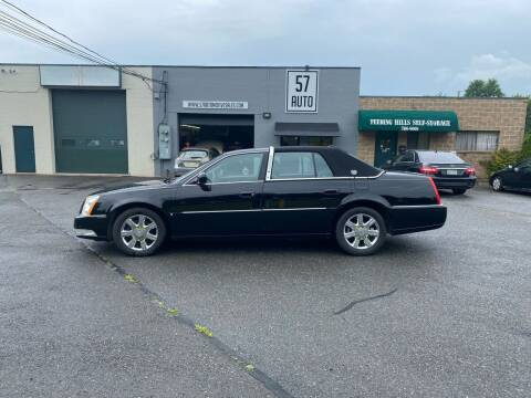 2008 Cadillac DTS for sale at 57 AUTO in Feeding Hills MA