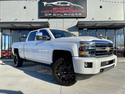 2019 Chevrolet Silverado 2500HD for sale at Exotic Motorsports of Oklahoma in Edmond OK