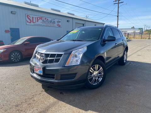 2012 Cadillac SRX for sale at SUPER AUTO SALES STOCKTON in Stockton CA