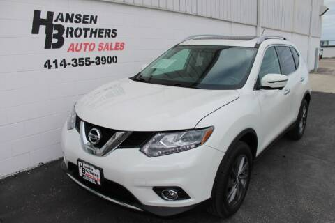 2016 Nissan Rogue for sale at HANSEN BROTHERS AUTO SALES in Milwaukee WI