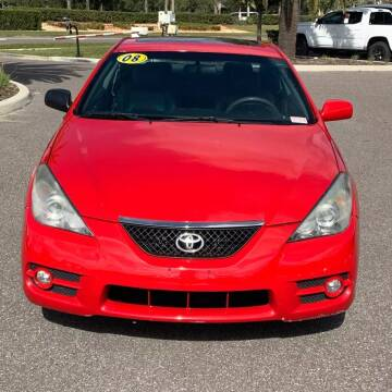 2008 Toyota Camry Solara for sale at GLOBAL MOTOR GROUP in Newark NJ