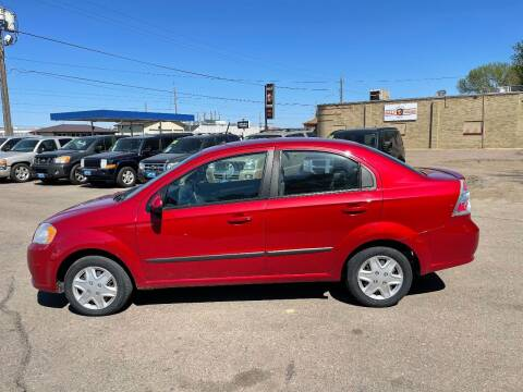 2011 Chevrolet Aveo for sale at Iowa Auto Sales, Inc in Sioux City IA