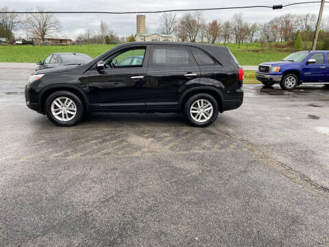 2014 Kia Sorento for sale at K & P Used Cars, Inc. in Philadelphia TN