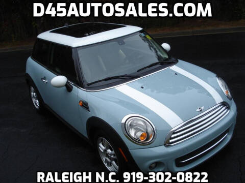 2013 MINI Hardtop for sale at D45 Auto Brokers in Raleigh NC