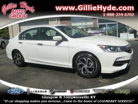 2017 Honda Accord for sale at Gillie Hyde Auto Group in Glasgow KY