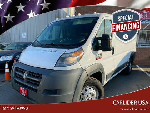2015 RAM ProMaster Cargo for sale at Carlider USA in Everett MA