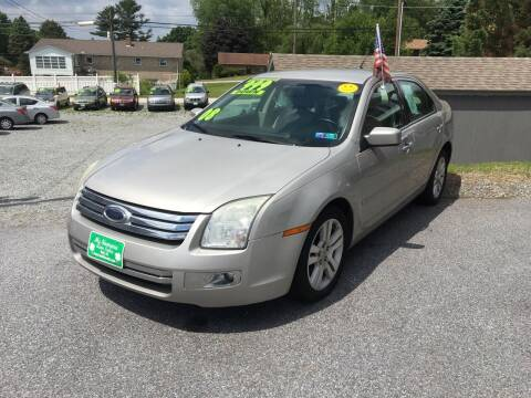 2008 Ford Fusion for sale at McNamara Auto Sales - Kenneth Road Lot in York PA