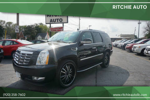 2012 Cadillac Escalade for sale at Ritchie Auto in Appleton WI