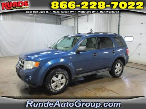 2008 Ford Escape for sale at Runde Chevrolet in East Dubuque IL