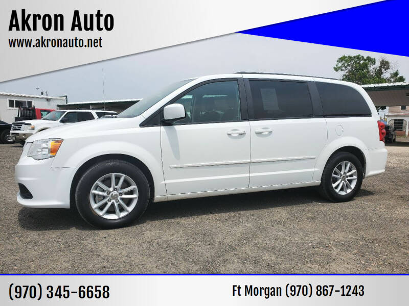 2015 Dodge Grand Caravan for sale at Akron Auto in Akron CO