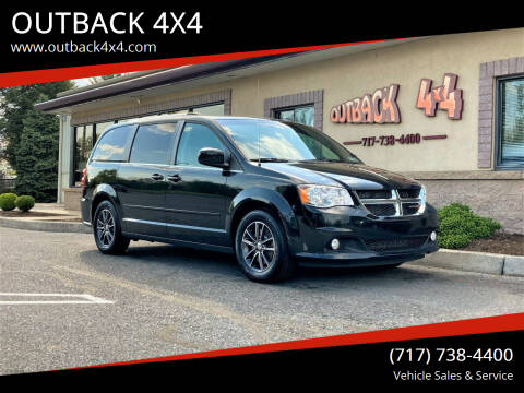 2017 Dodge Grand Caravan for sale at OUTBACK 4X4 in Ephrata PA