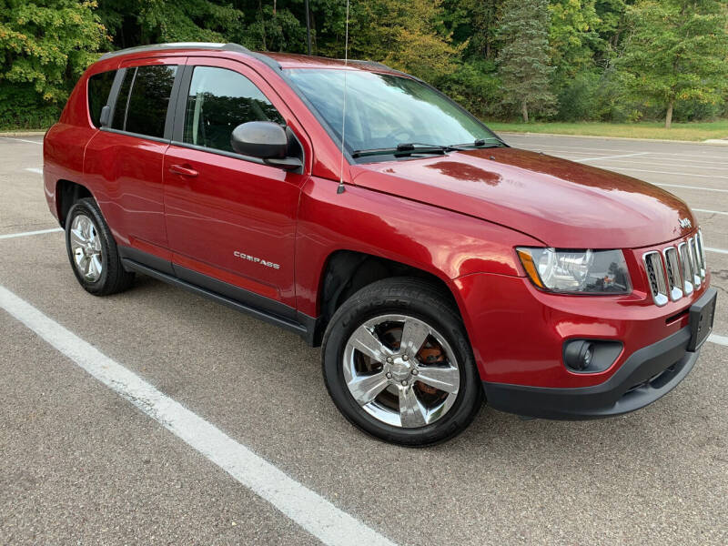2014 Jeep Compass for sale at Lifetime Automotive LLC in Middletown OH