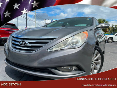 2014 Hyundai Sonata for sale at LATINOS MOTOR OF ORLANDO in Orlando FL