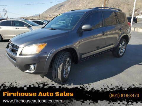 2011 Toyota RAV4 for sale at Firehouse Auto Sales in Springville UT