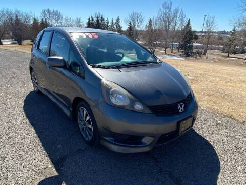 2012 Honda Fit for sale at BELOW BOOK AUTO SALES in Idaho Falls ID