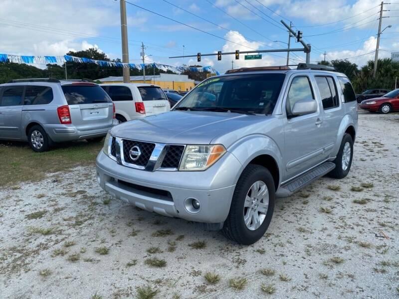 2006 Nissan Pathfinder for sale at SKYLINE AUTO SALES LLC in Winter Haven FL
