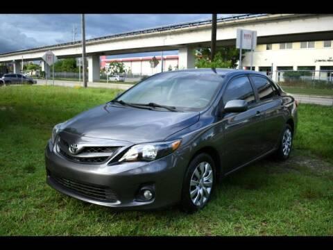 2012 Toyota Corolla for sale at ELITE MOTOR CARS OF MIAMI in Miami FL