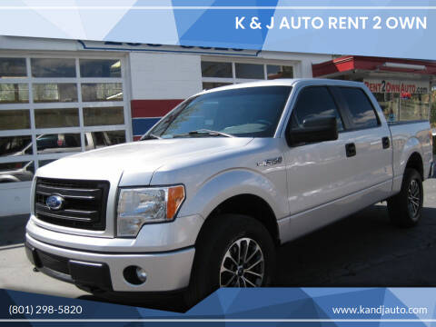 2014 Ford F-150 for sale at K & J Auto Rent 2 Own in Bountiful UT