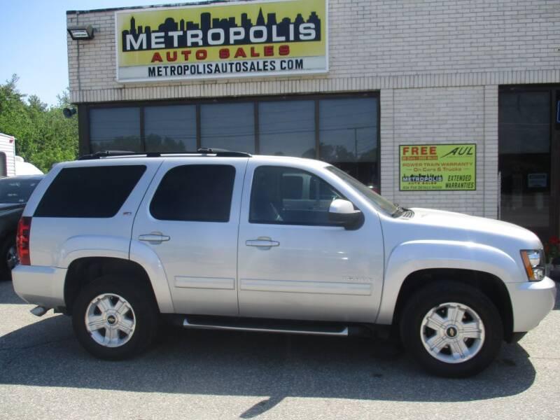 2013 Chevrolet Tahoe for sale at Metropolis Auto Sales in Pelham NH