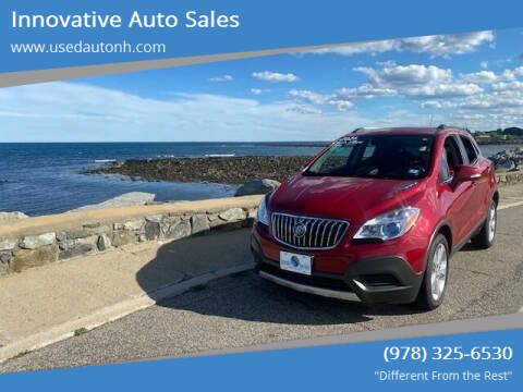 2016 Buick Encore for sale at Innovative Auto Sales in North Hampton NH