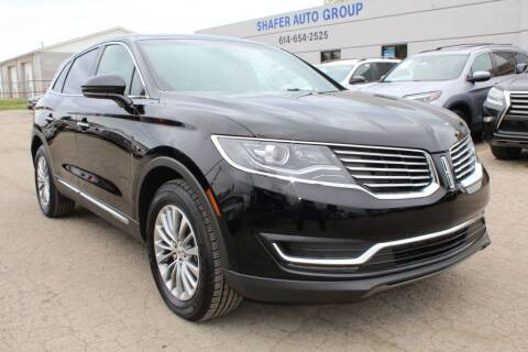2017 Lincoln MKX for sale at SHAFER AUTO GROUP in Columbus OH