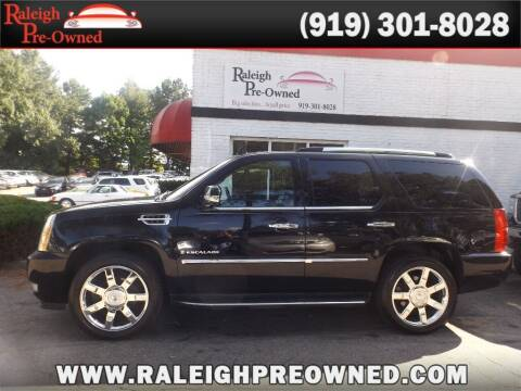 2008 Cadillac Escalade for sale at Raleigh Pre-Owned in Raleigh NC