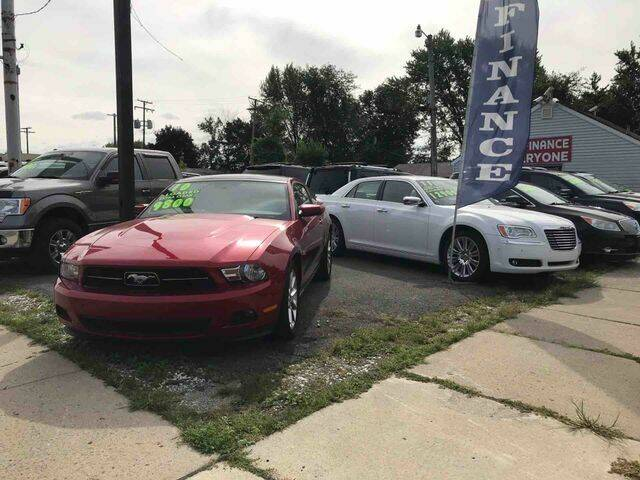 2010 Ford Mustang for sale at Mastro Motors in Garden City MI