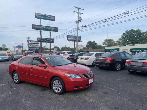 2007 Toyota Camry Hybrid for sale at Boardman Auto Mall in Boardman OH