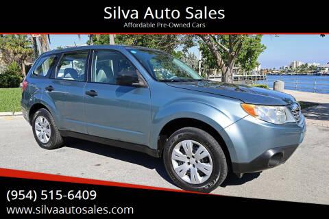 2009 Subaru Forester for sale at Silva Auto Sales in Pompano Beach FL