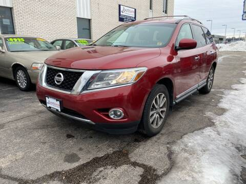 2013 Nissan Pathfinder for sale at AUTOSAVIN in Elmhurst IL