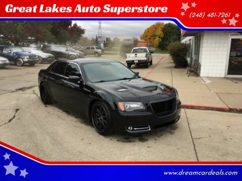 2013 Chrysler 300 for sale at Great Lakes Auto Superstore in Pontiac MI