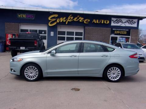2013 Ford Fusion Hybrid for sale at Empire Auto Sales in Sioux Falls SD