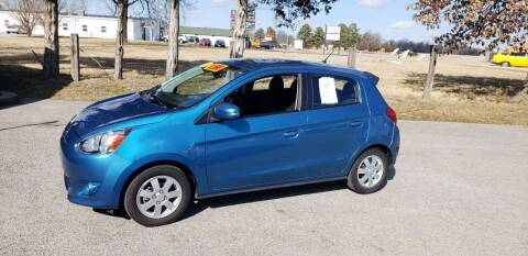 2015 Mitsubishi Mirage for sale at Elite Auto Sales in Herrin IL