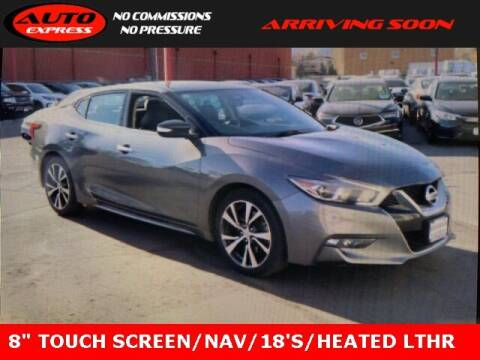 2017 Nissan Maxima for sale at Auto Express in Lafayette IN