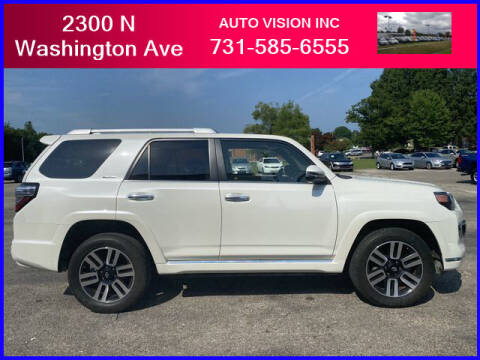 2018 Toyota 4Runner for sale at Auto Vision Inc. in Brownsville TN