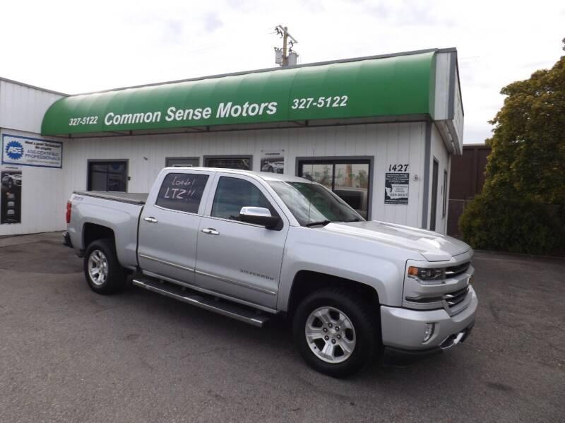 2016 Chevrolet Silverado 1500 for sale at Common Sense Motors in Spokane WA