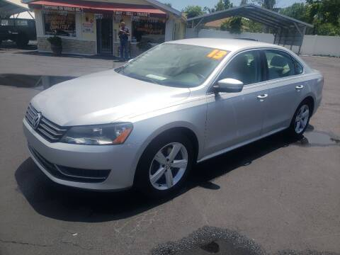 2013 Volkswagen Passat for sale at ANYTHING ON WHEELS INC in Deland FL