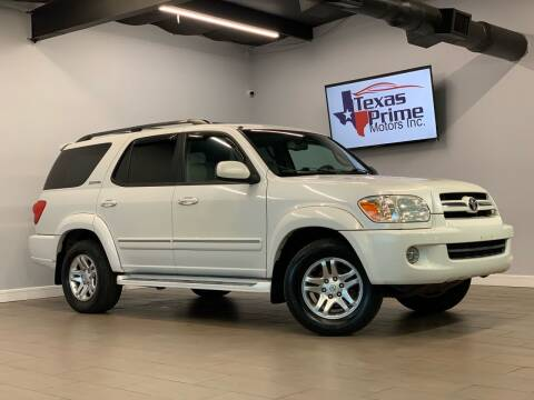 2006 Toyota Sequoia for sale at Texas Prime Motors in Houston TX