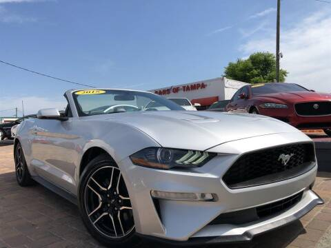 2018 Ford Mustang for sale at Cars of Tampa in Tampa FL