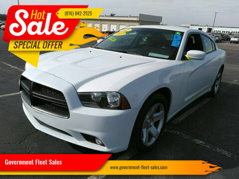 2013 Dodge Charger for sale at Government Fleet Sales in Kansas City MO