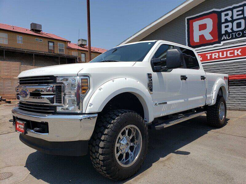 2018 Ford F-250 Super Duty for sale at Red Rock Auto Sales in Saint George UT