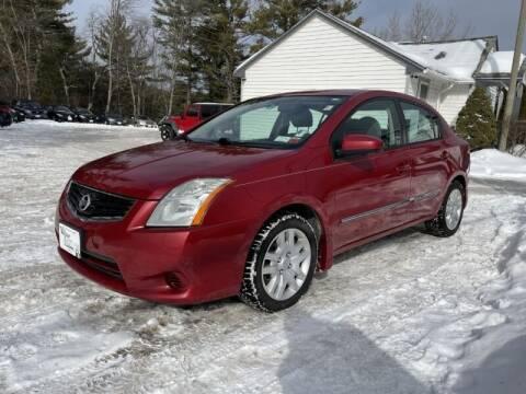 2012 Nissan Sentra for sale at Williston Economy Motors in Williston VT