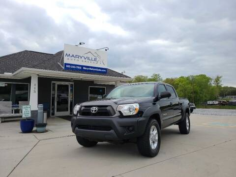 2015 Toyota Tacoma for sale at Maryville Auto Sales in Maryville TN