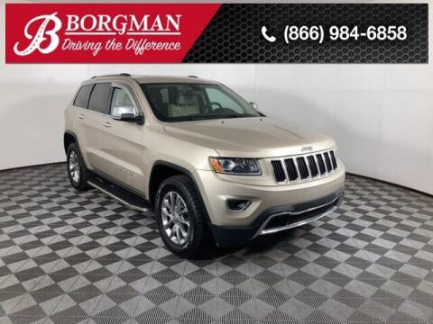 2014 Jeep Grand Cherokee for sale at BORGMAN OF HOLLAND LLC in Holland MI