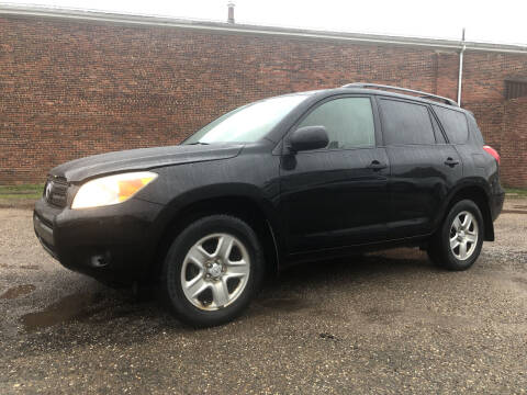 2008 Toyota RAV4 for sale at Jim's Hometown Auto Sales LLC in Byesville OH