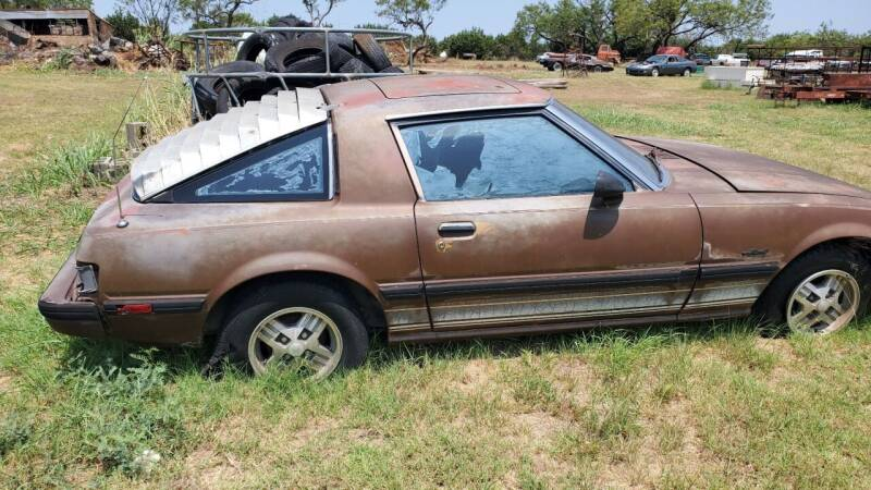 1983 Mazda RX-7 for sale at CLASSIC MOTOR SPORTS in Winters TX