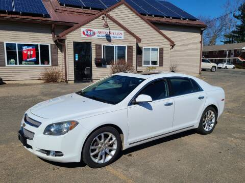 2012 Chevrolet Malibu for sale at V & F Auto Sales in Agawam MA