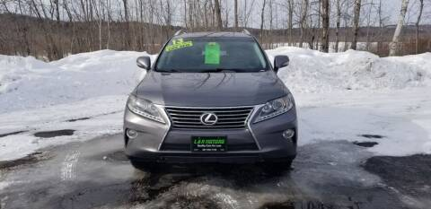 2013 Lexus RX 350 for sale at L & R Motors in Greene ME