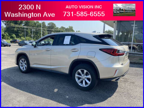 2017 Lexus RX 350 for sale at Auto Vision Inc. in Brownsville TN